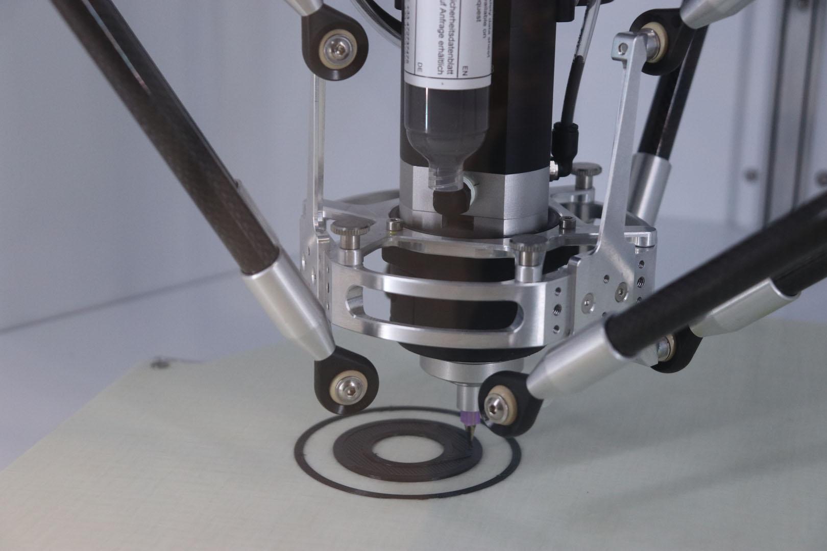 Impression 3D en silicone d'un soufflet